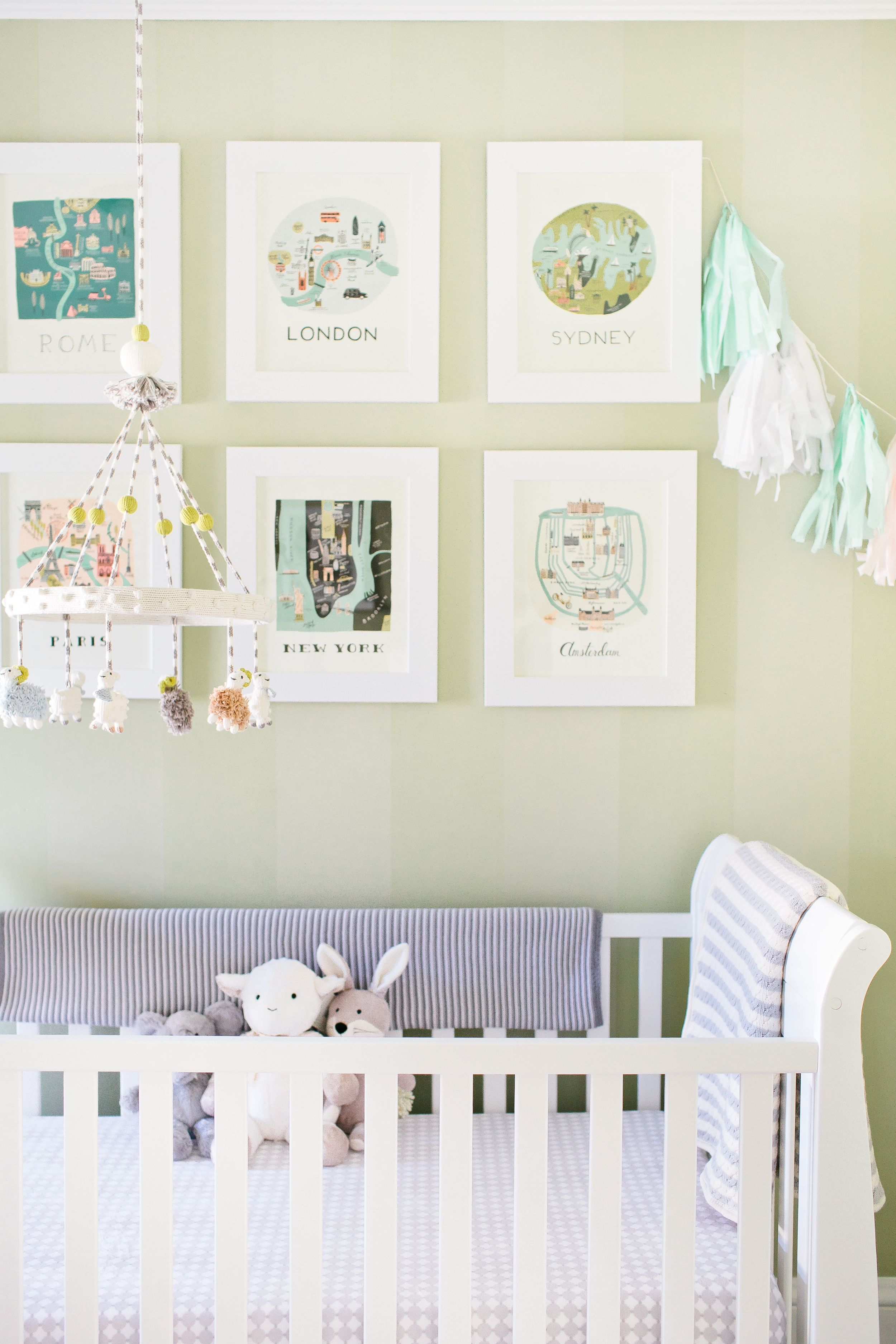 View entire slideshow: Jessica Biel Inspired Nurseries on http://www.stylemepretty.com/collection/1142/