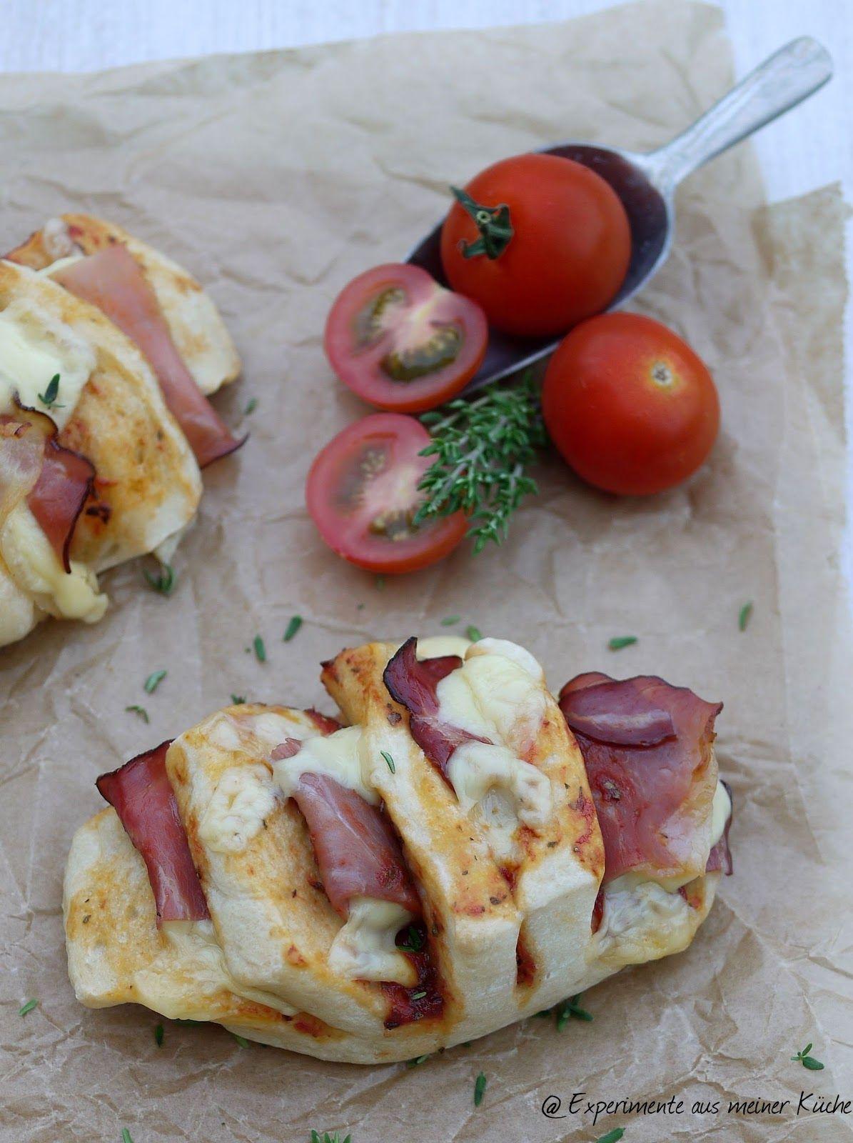 Pizzabrötchenfächer | Experimente aus meiner küche, Küche und ...