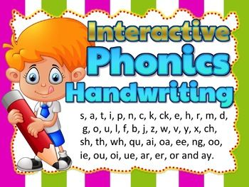 Letter Formation Animated Powerpoint And Worksheets Phonics Phonics Teaching Handwriting Jolly Phonics