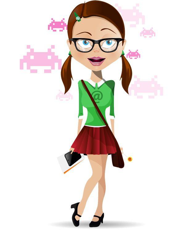 Cartoon Girl Female Characters