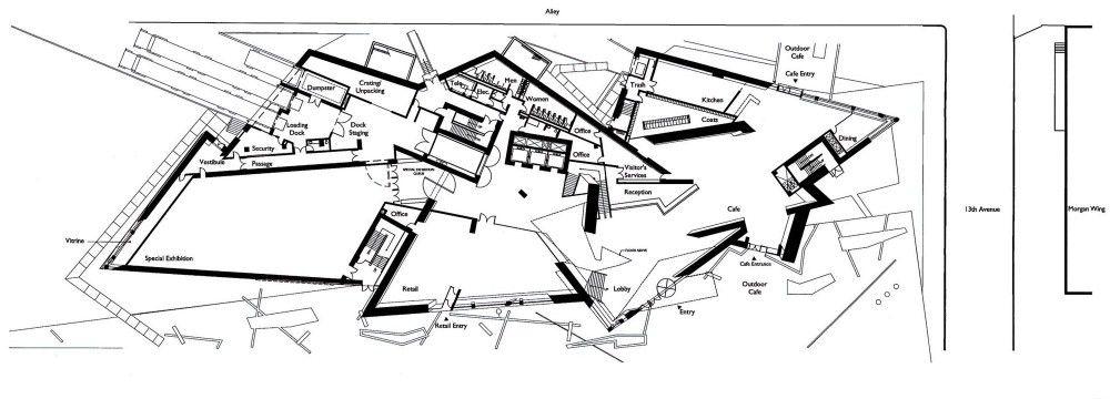 Gallery of Denver Art Museum   Studio Libeskind - 38 Art museum - copy blueprint denver land use and transportation plan