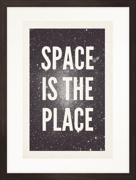 Space Is The Place screenprint