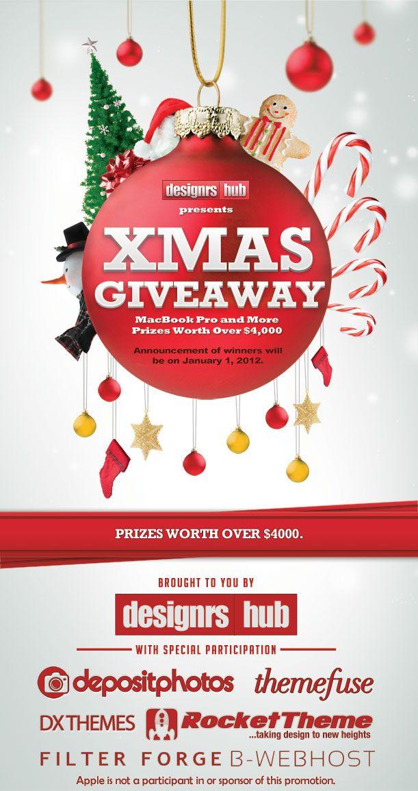 Christmas Giveaway Flyer.Pin On Designrshub Gallery