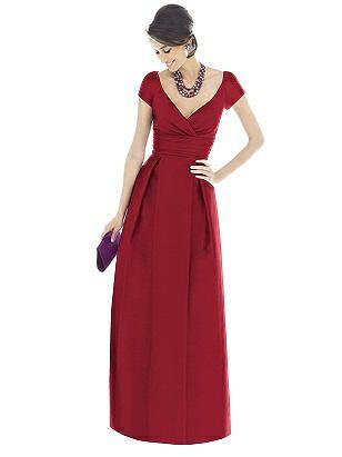 Alfred Sung Bridesmaid Dress D501 | Alfred sung bridesmaid dresses ...