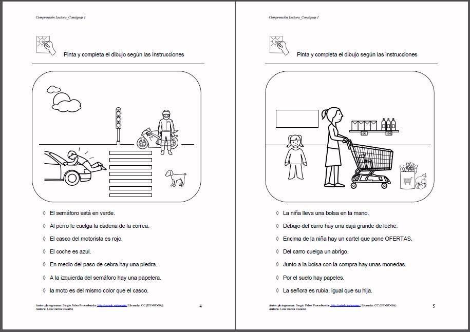 Materiales Comprensión Lectora Consignas I Material Para Trabajar La Comprensión Lectora Com Spanish Teacher Resources Bilingual Teaching Spanish Reading