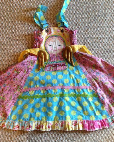 Girls Custom Boutique Easter Feliz Dress Beautiful Ruffles Size 4 5 6 Angel | eBay