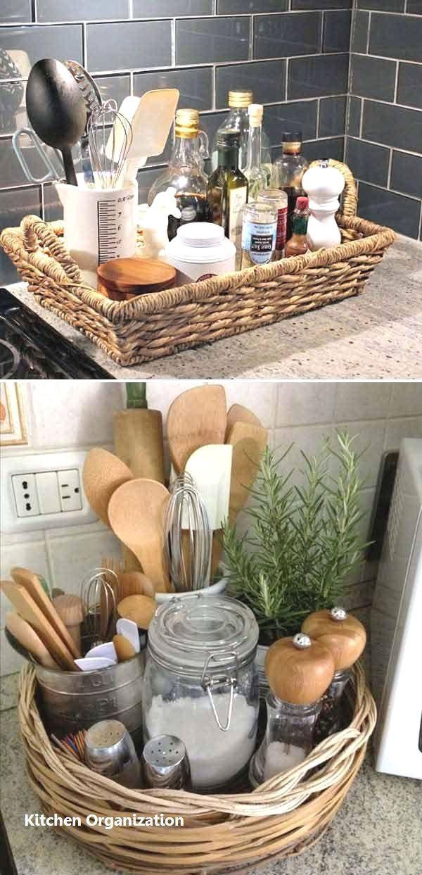 15 Intelligente DIY-Ideen für die Küche organisi... - #aufbewahrung #die #DIYIdeen #für #Intelligente #Küche #organisi #smallkitchendecoratingideas