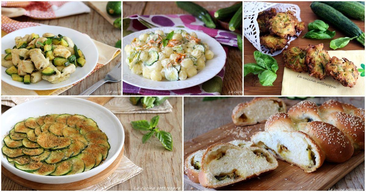 Ricette veloci con le zucchine | Verdure | Pinterest | Ricette ...