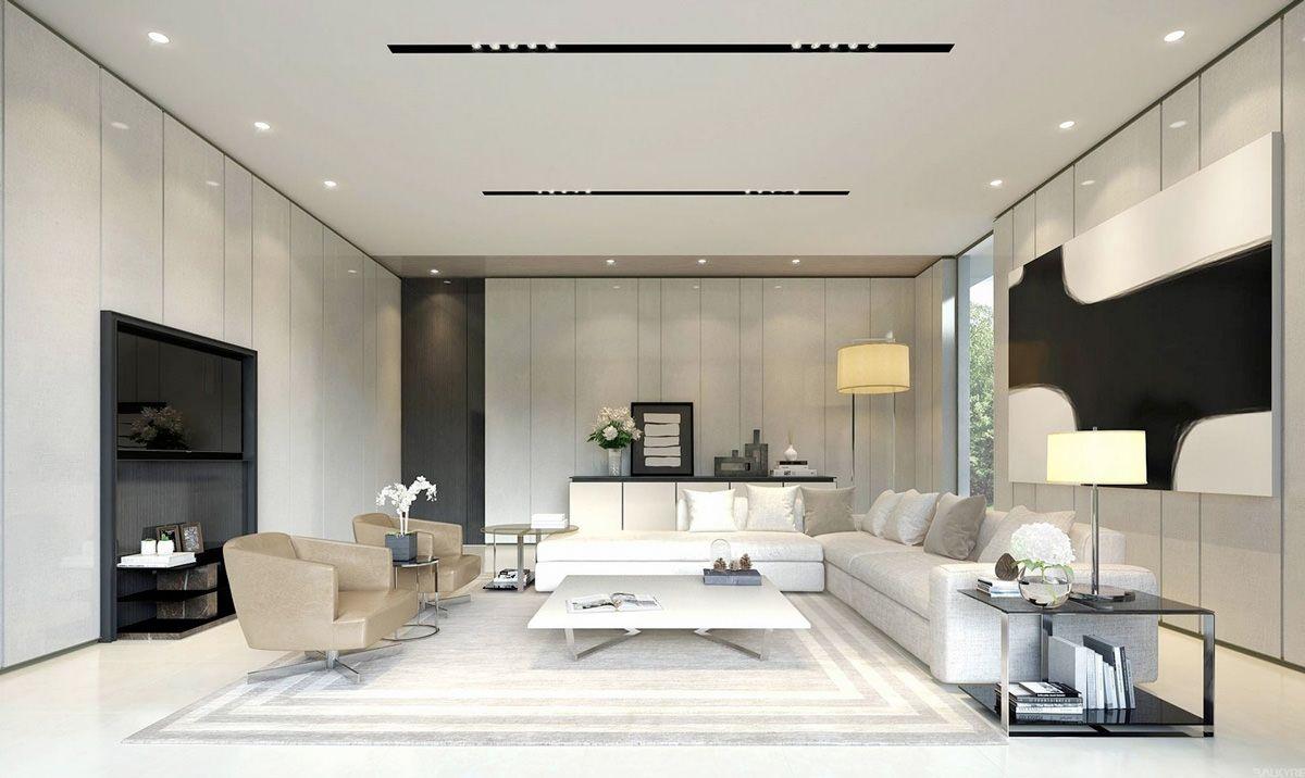 Soggiorni moderni • 100 idee e stile per il soggiorno ...