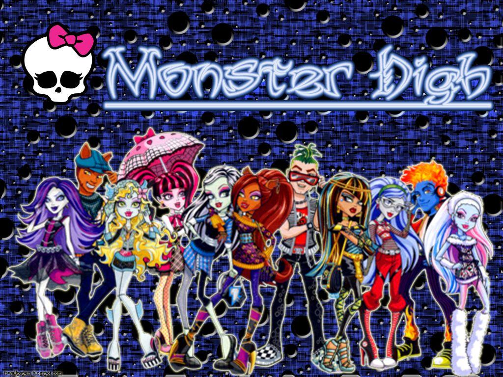 Free Monster High Desktop Image