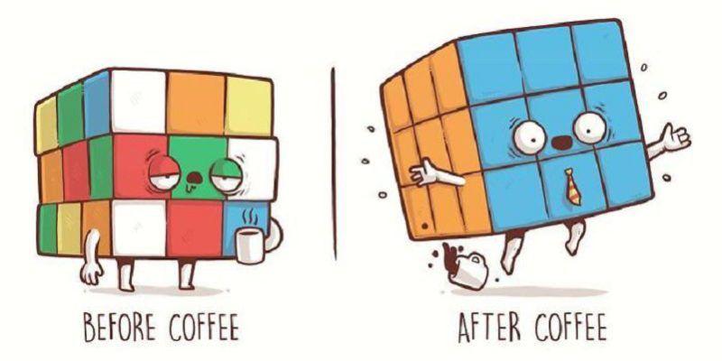21 Illustrations avant et après par Nacho Diaz