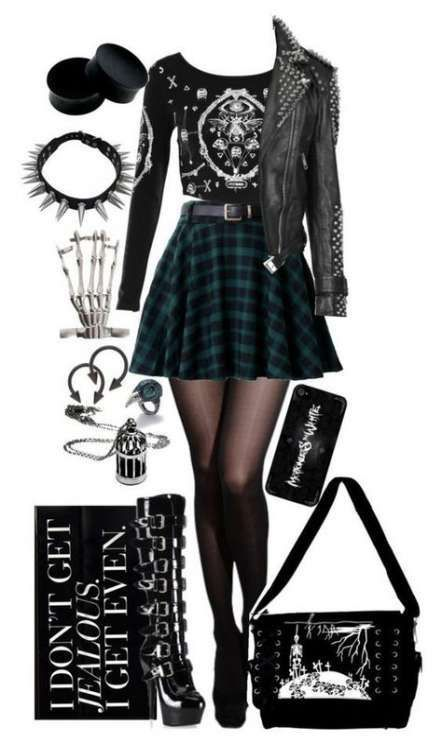 emo fashion dress Steampunk