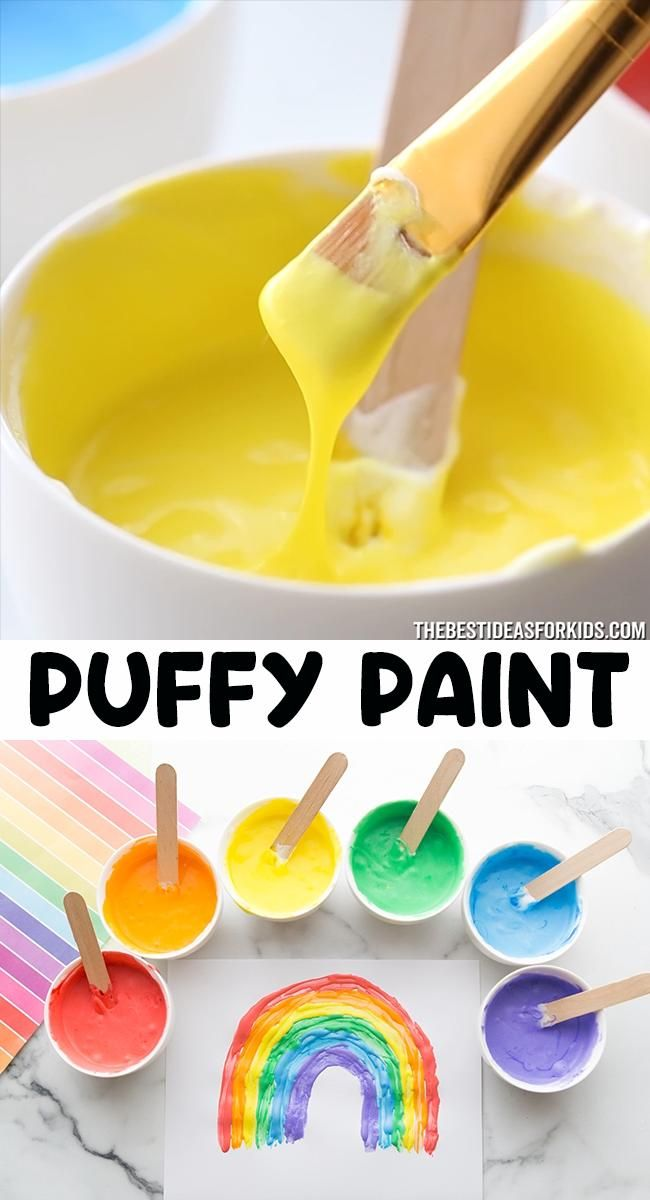 Photo of Puffy Paint 🎨