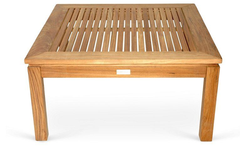 Teak 36 Coffee Table Natural Now 386 00 Was 515 00 Teak Outdoor Coffee Table Square Teak Coffee Table Coffee Table Square
