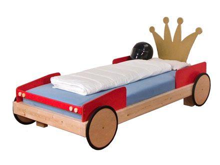 Süßes Autobett für kleine Rennfahrer von Bodenseemoebel.de