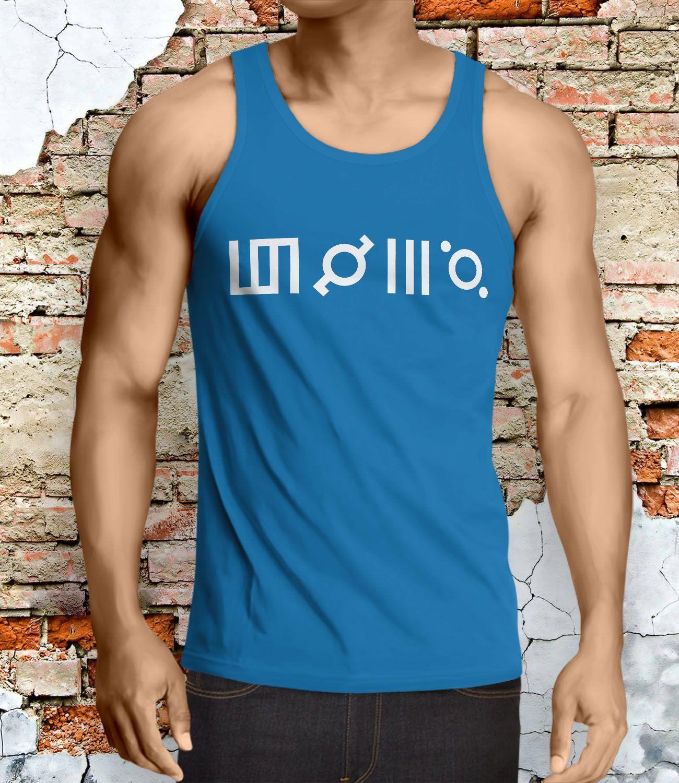 30 Seconds to Mars Symbol Men Tanktop - Lzi Tanktop For Men / Custom - Tanktop…