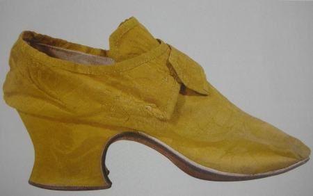 Shoes, Satin, c.1740