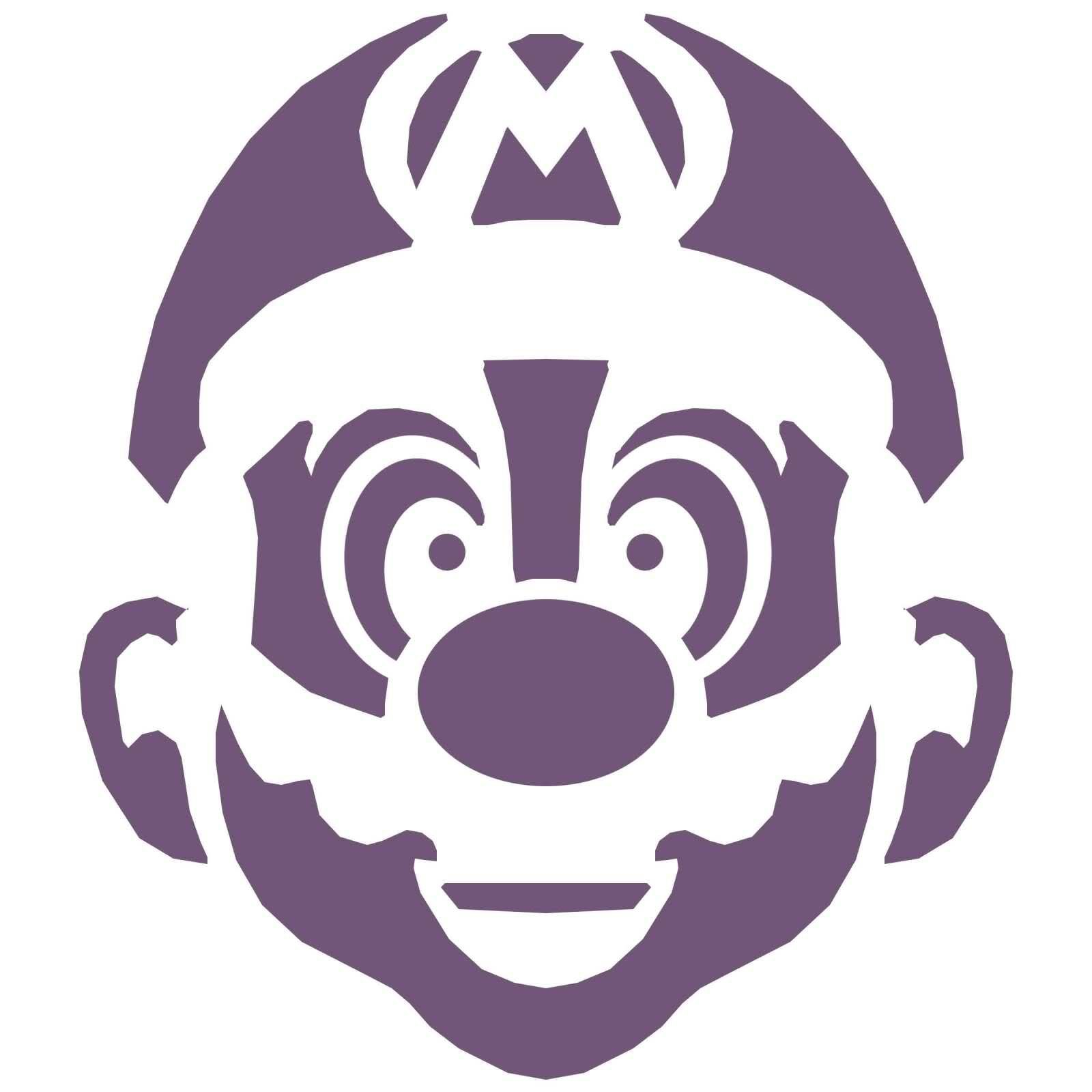 Mario Pumpkin  Spookify Your Pumpkin With A Mario Pumpkin Stencil