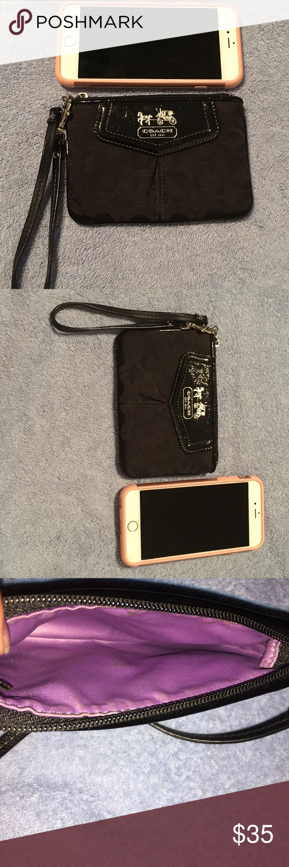 Coach Wristlet Still in good condition 3ae22be71864a