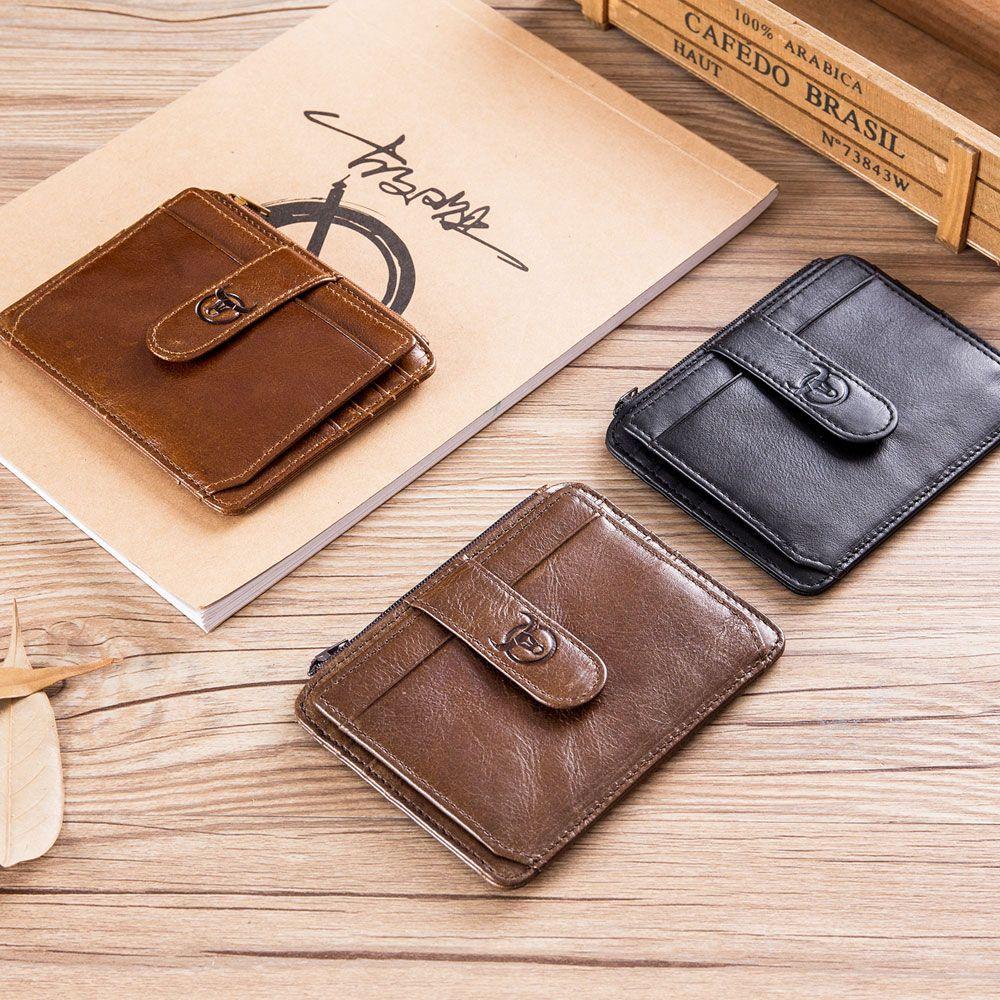 Men Trifold Long Wallet Card Holder Clutch Bag Wallet