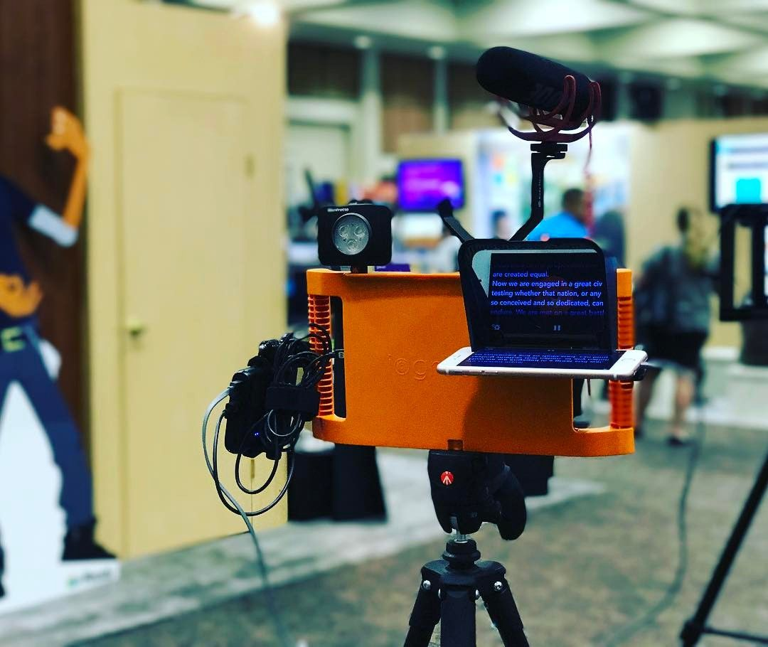 We Are Loving The Parrot Teleprompter And The Iographer What Will
