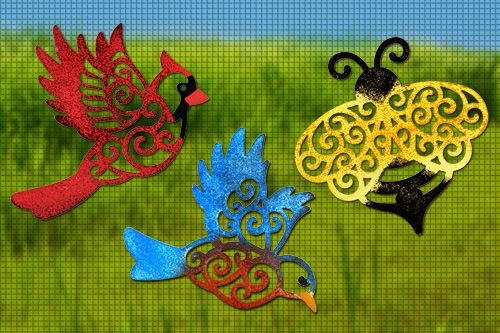 Birds And The Bee Magnetic Screen Saver Series Magnetic Screen Door Screen Door Dragon Fly Craft