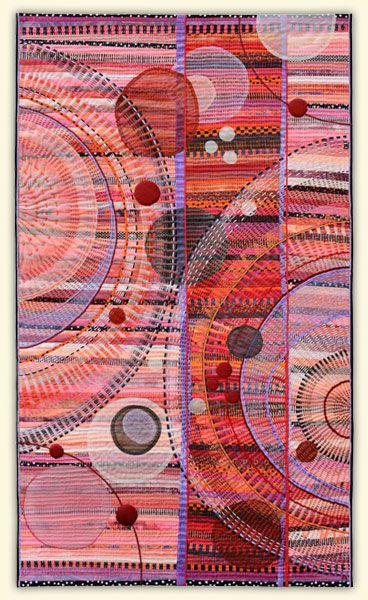 Marianne Burr: Hand Stitched Art - Portfolio 1
