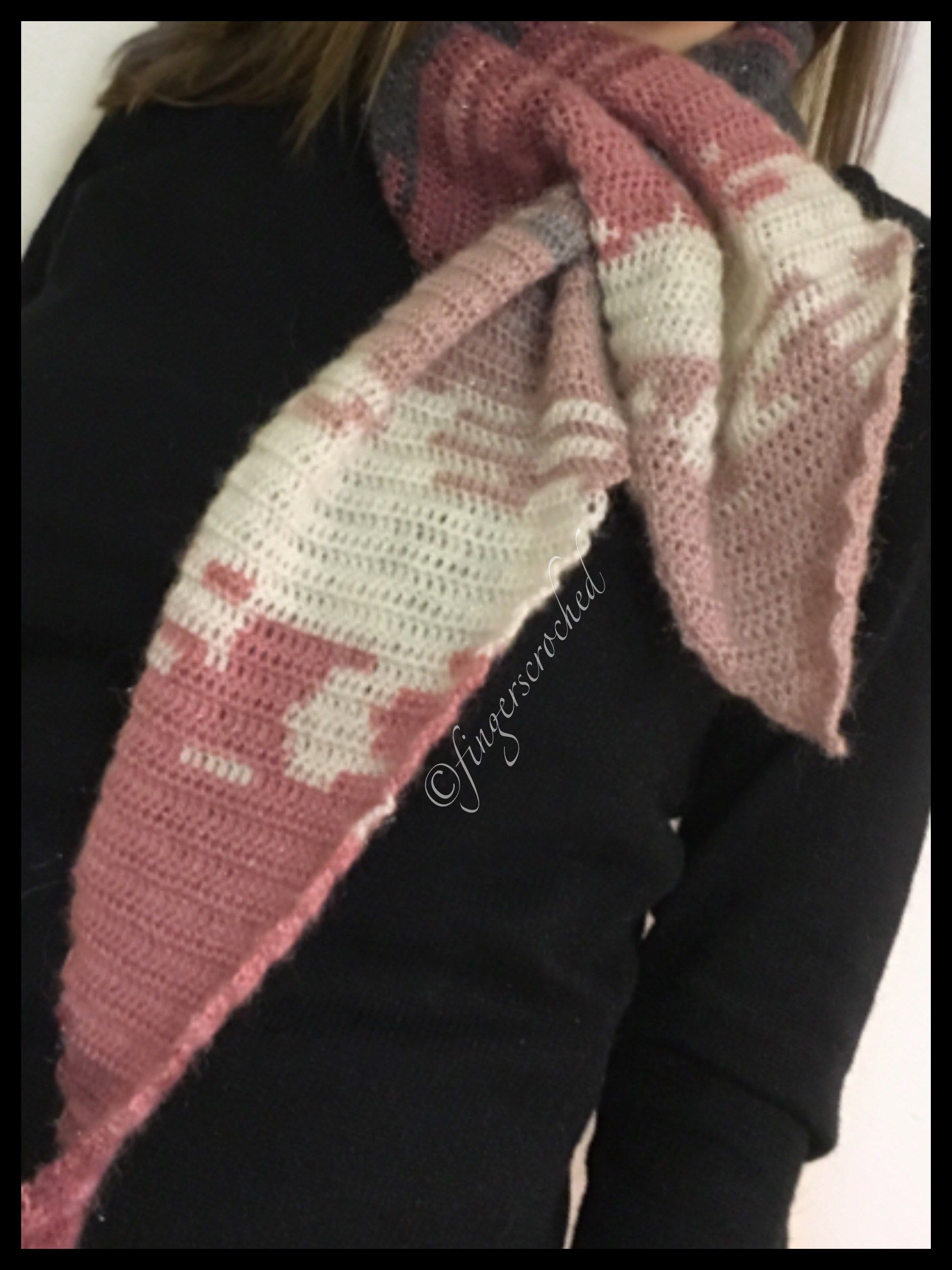 Magic Tail Scarf – Välkommen till FingersCroched  424714bcf8d9f