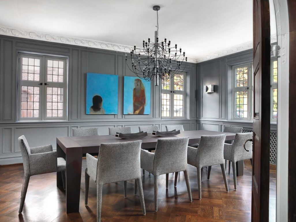A Maxalto OMERO Table Ten BB Italia VOL AU VENT Chairs Flos 2097