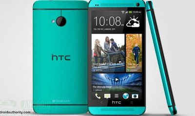 HTC One Blue - HTC flagship Smartphone