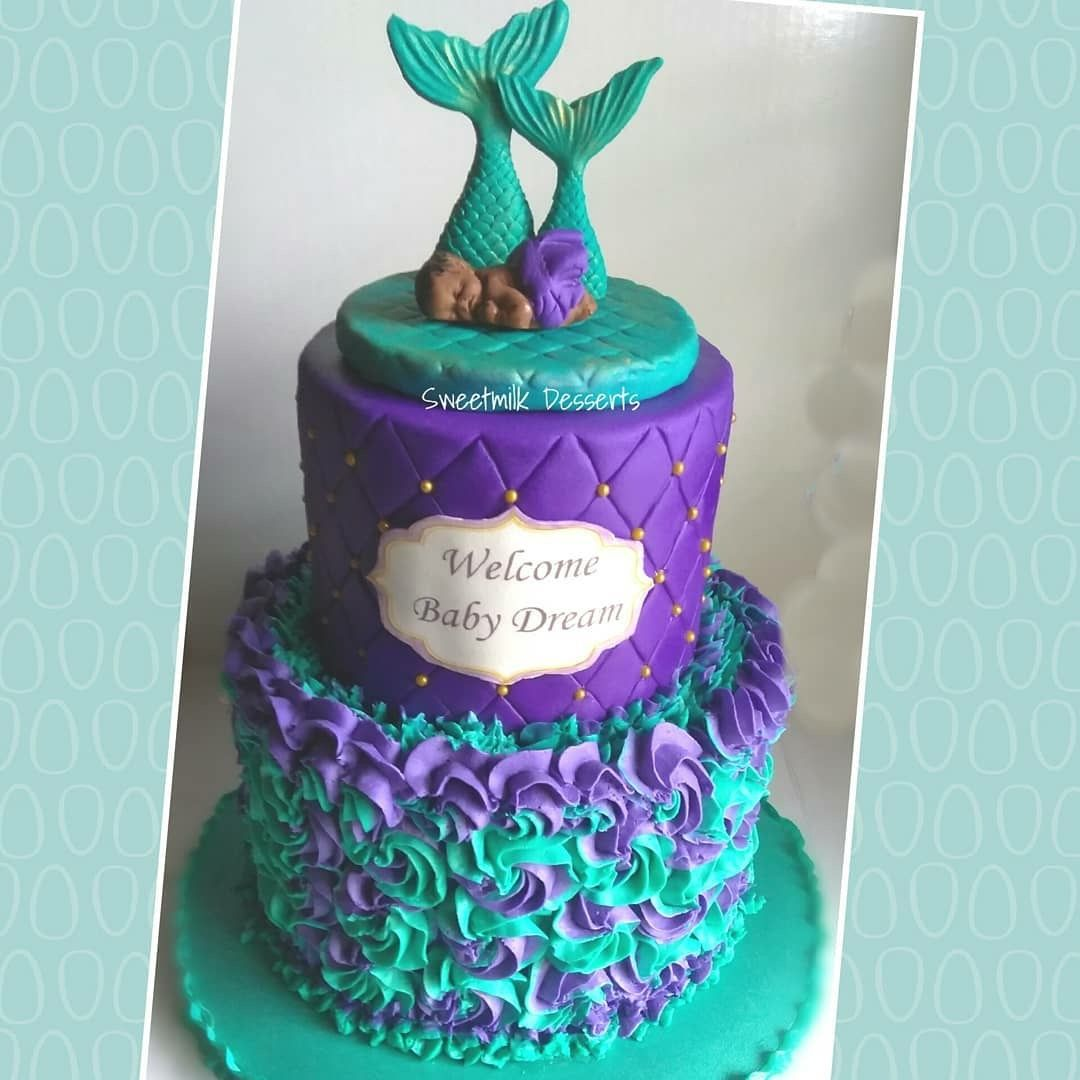 Pin By Mmm Mmercado On Party With Images Mermaid Baby Shower