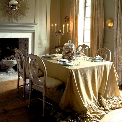 Formal Dining Room Tablecloths Home Ideas