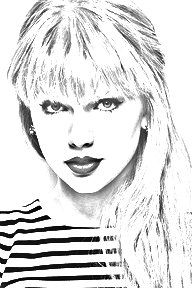 taylor swift coloring pages | TAYLOR SWIFT | Taylor Swift, Taylor ...