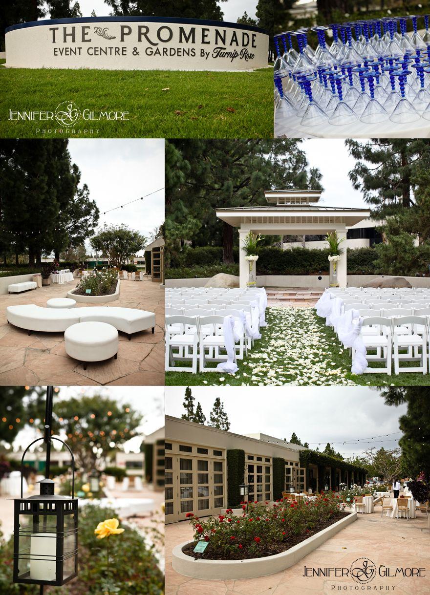 promenade wedding venue family bride groom wedding dress