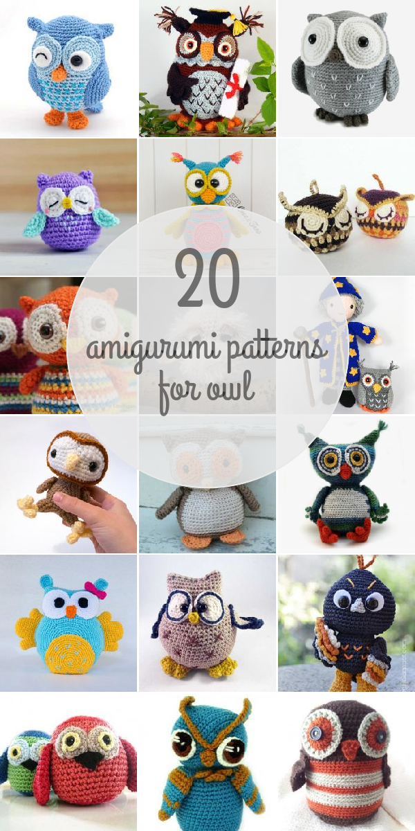 Owl patterns - Amigurumipatterns.net | Crochet Owls | Pinterest ...