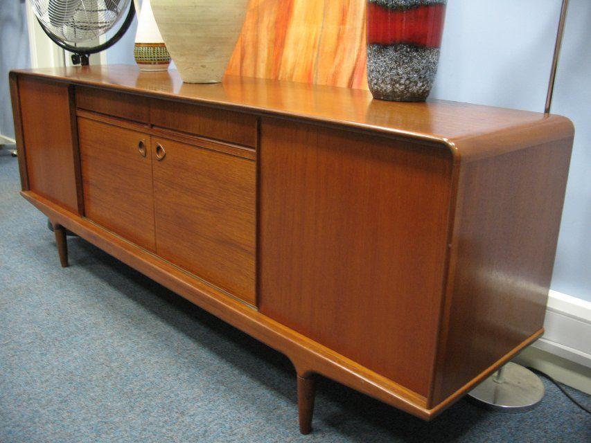Clausen son danish sideboard mid century pinterest mid century mid century modern and - Vintage woonkamer meubels ...