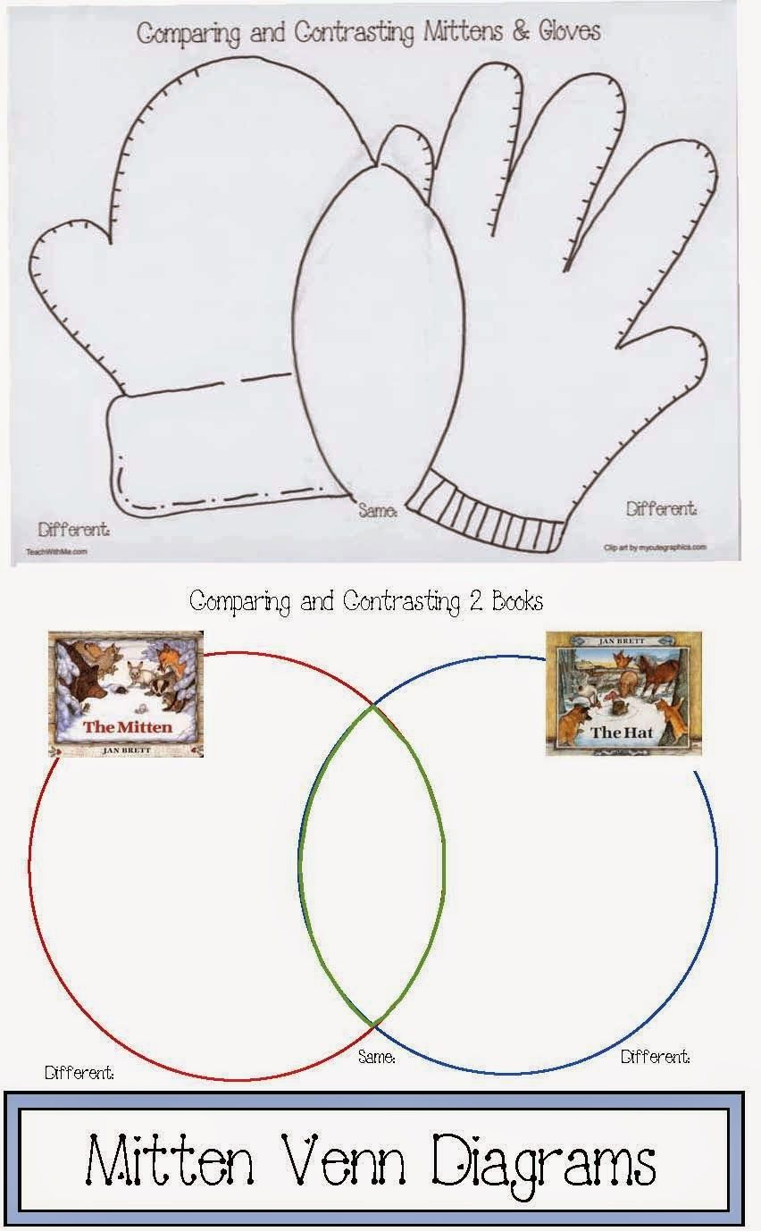 mitten venn diagrams classroom freebies! classroom, kindergarten Venn Diagram with Lines Template Printable mitten venn diagrams comparar y contrastar, reading activities, winter activities, literacy activities,