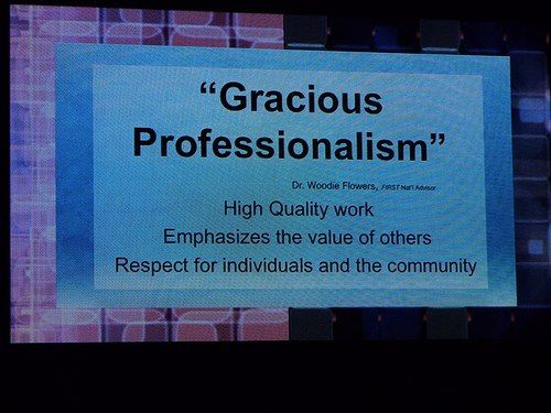 Gracious Professionalism Gracious Business Quotes Inspiration