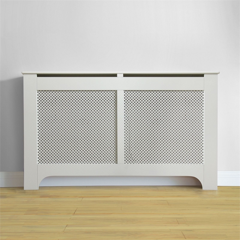 Richmond Extra Large White Radiator Cabinet Cover In 2020 White
