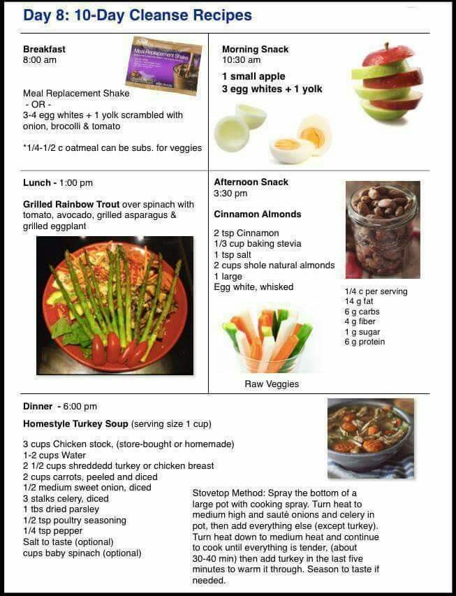 Day 8 10 Day Cleanse Recipes Advocare Cleanse Recipes Advocare Recipes Cleanse Recipes