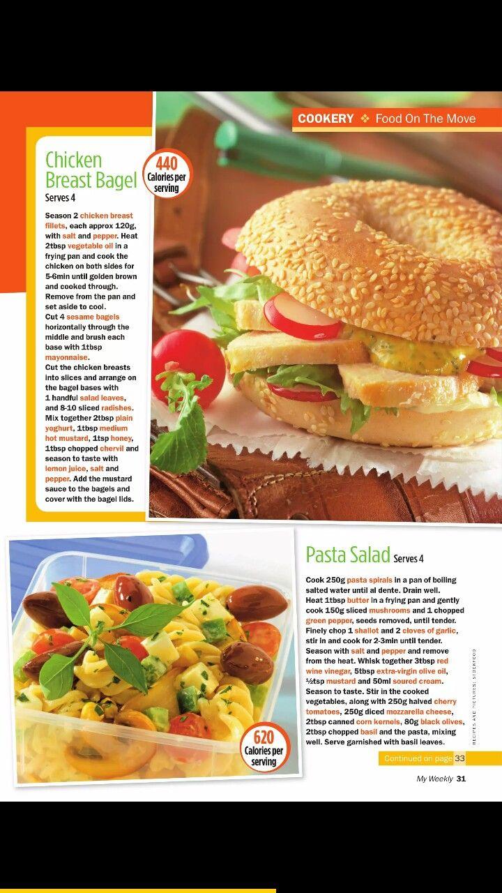 chicken breast bagel