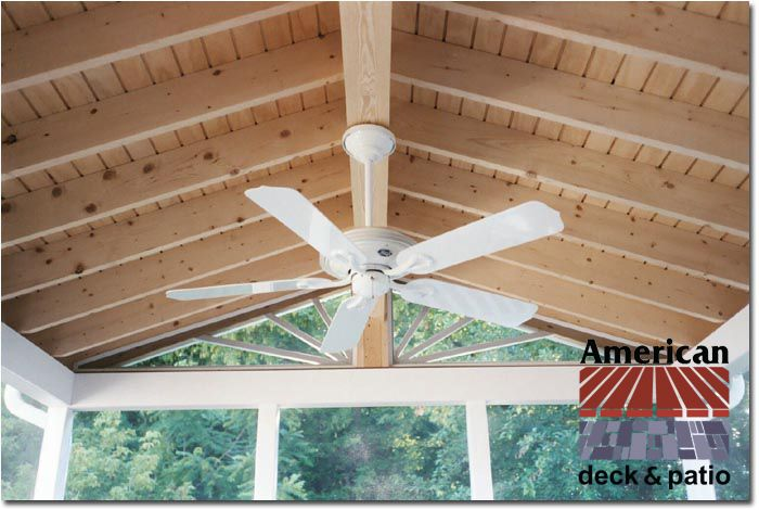American Deck Inc Gallery Array Porch Ceiling Ceiling Finishes Roof Sheathing