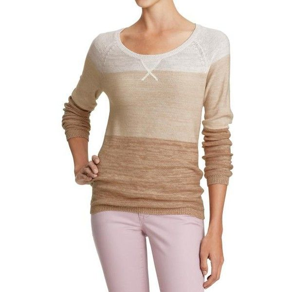 Old Navy Womens Lightweight Crew Neck Sweaters ($20) ❤ liked on Polyvore