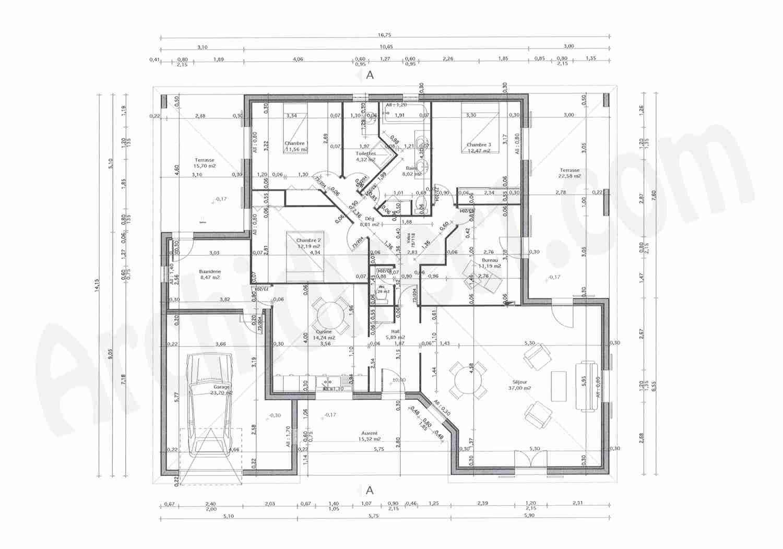 plan de maison 2d gratuit