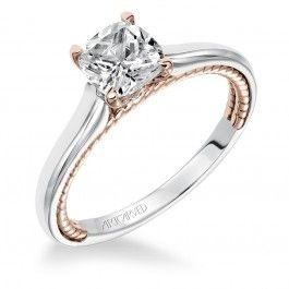 LOVE this Artcarved engagement ring from Wedding Day Diamonds! ONLY $920!