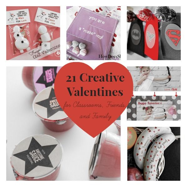 21 Creative Valentines Ideas For Classrooms Friends And Family Valentine Crafts Valentines School Valentines Printables Free