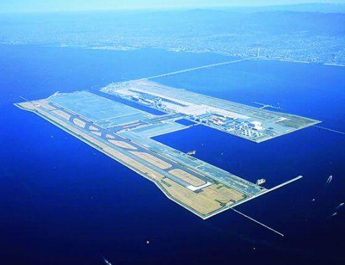 Aeroporto Kansai Osaka : Kansai international airport osaka japan airports