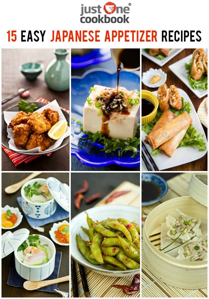 15 Easy Japanese Appetizer Recipes Appetizer Recipes Japanese