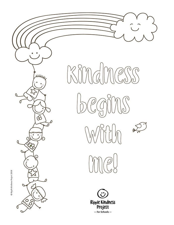 Free Printables Teaching Kindness, Kindness Projects, Kindness Activities