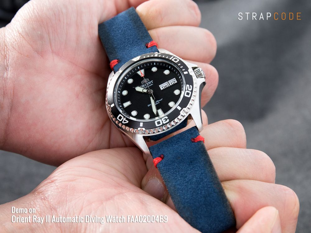 2154eeff7fc 6 ways to present your Orient Ray II beyond the regular See more at  strapcode.wordpress.com  MiLTAT  strapcode